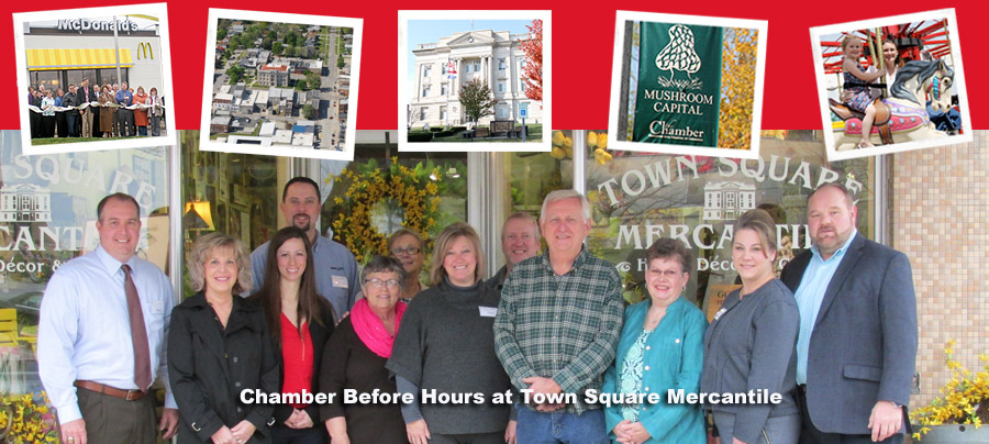 Business Before Hours at Town Square Mercantile